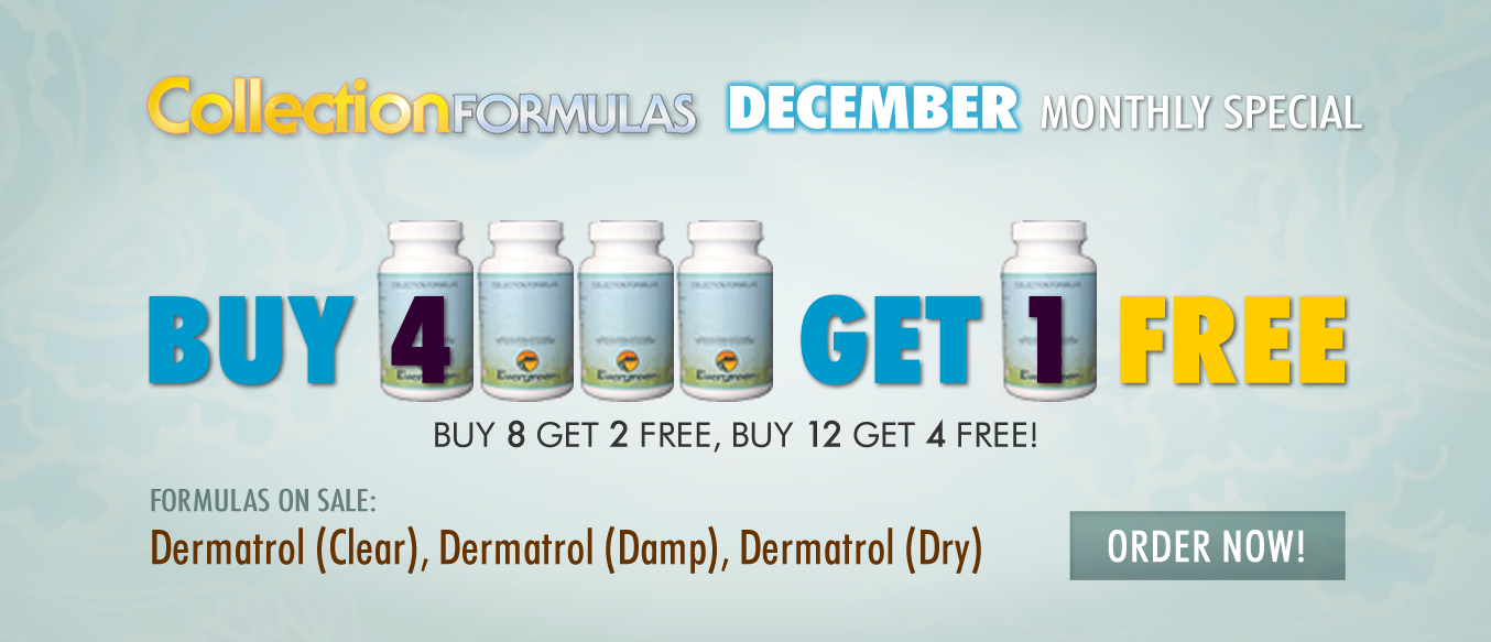 December Buy 4 Get 1 Free Monthly Special