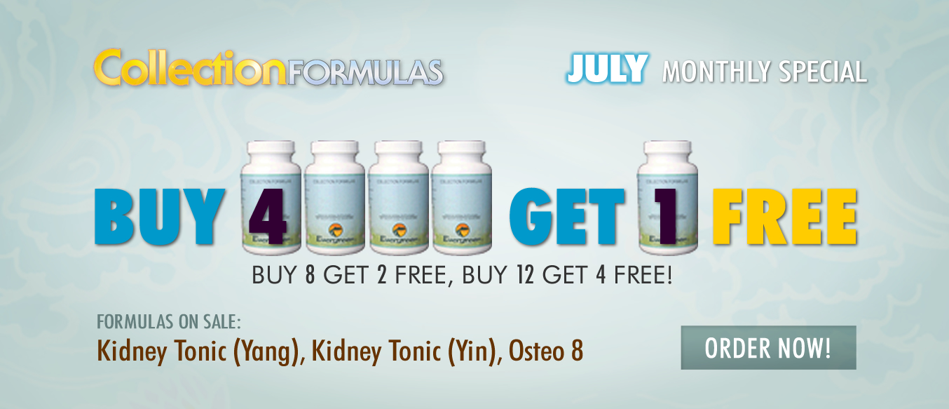 July Buy 4 Get 1 Free Monthly Special
