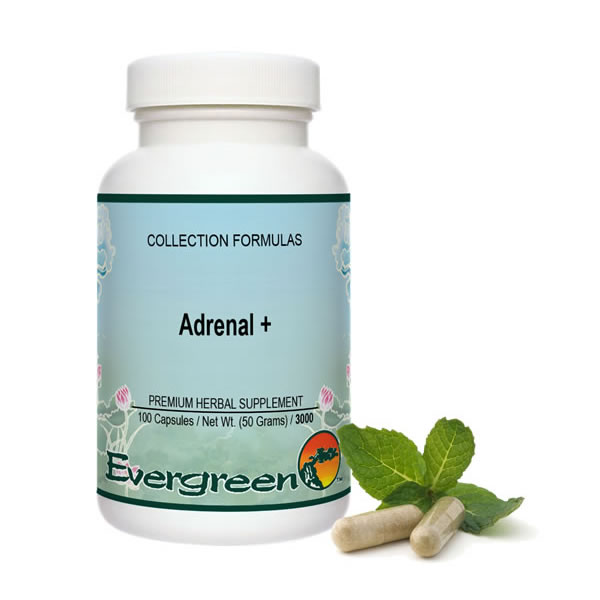 Adrenal + - Capsules (100 count)